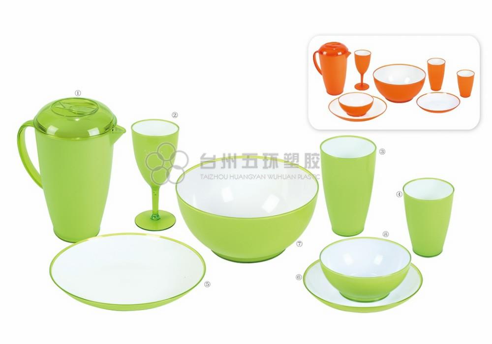 picnic bowls 10 piece set