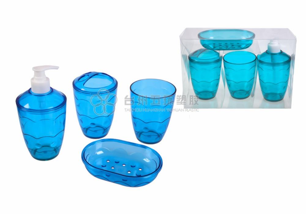 4pcs bathroom accessories set