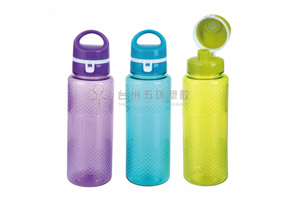 Vacuum Plastic Cover Sports Water Bottles