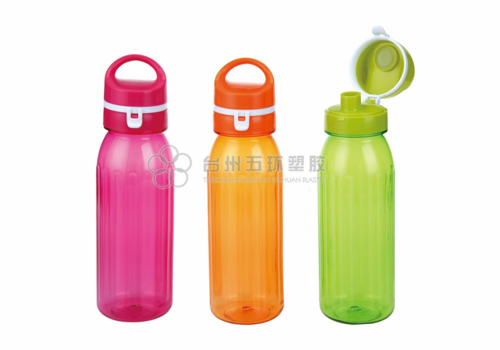 Lightweight plastic water Bottles for Outdoors