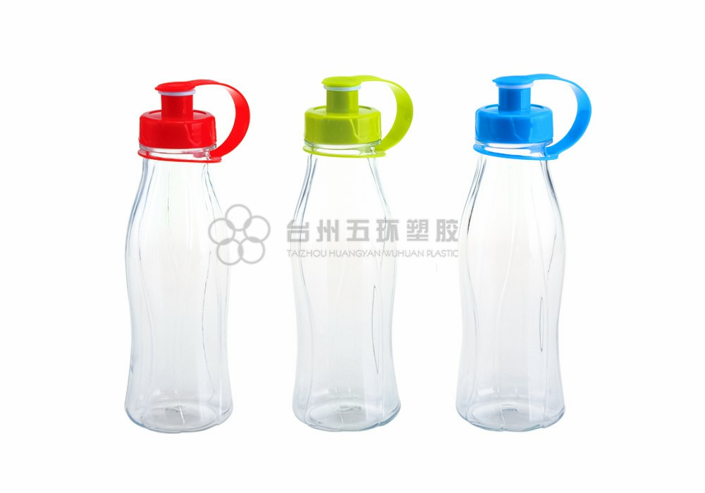 clear Plastic Water Bottle for Sports Outdoor-Ride