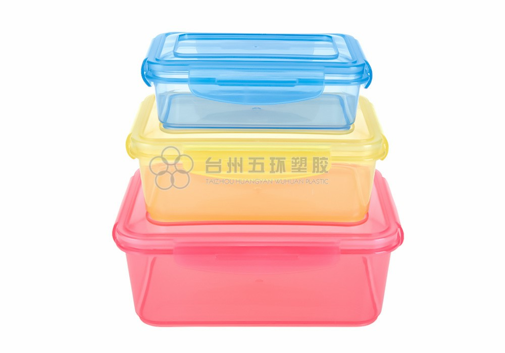 plastic food containers with lids airtight