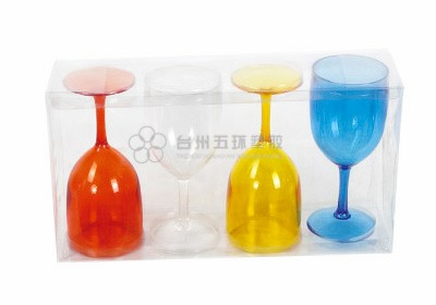 4pcs wine glass set series