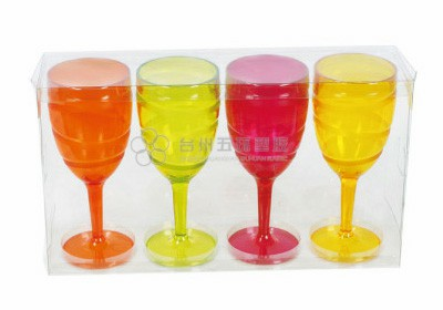4pcs wine goblet set series