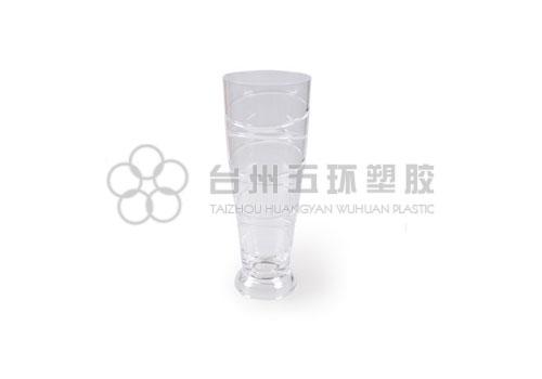 Swirl beer glass