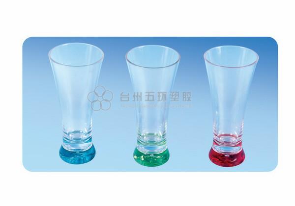 Glass with spray