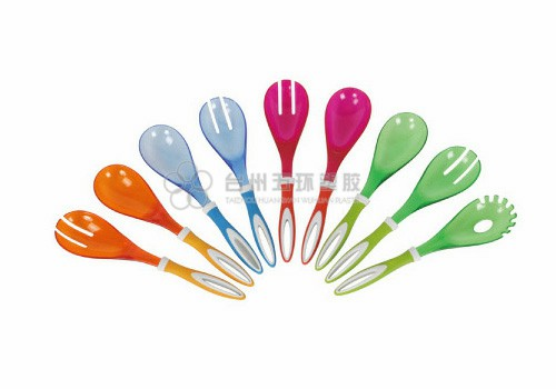 Salad fork and spoon set