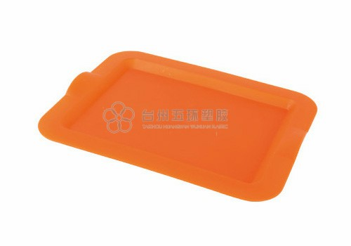 Rectangular Single color Dining Food Plastic Serving Tray