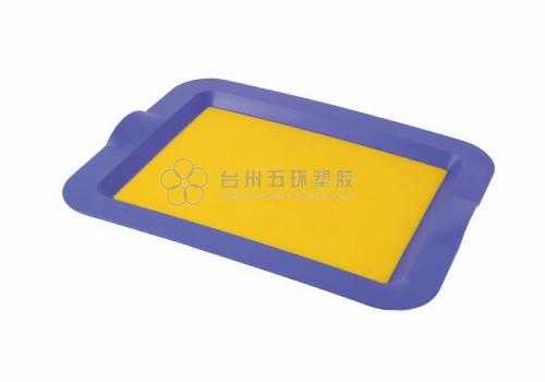 Colorful customized rectangular tray