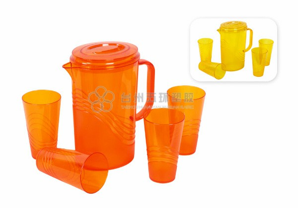 plastic water pitcher with handle