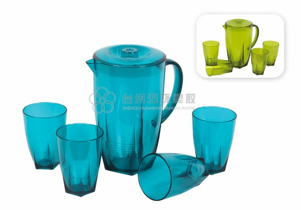 Food Grade plastic Pitcher set
