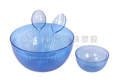 Plastic Fruit Salad Bowl for Kitchen