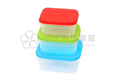 6pcs rectangle container set