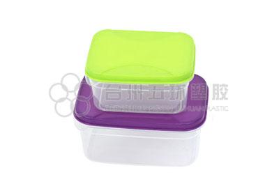 4pcs rectangle container set