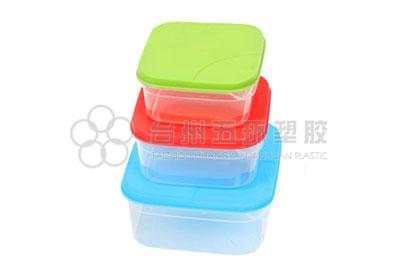 6pcs square container set