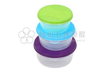 6pcs round container set