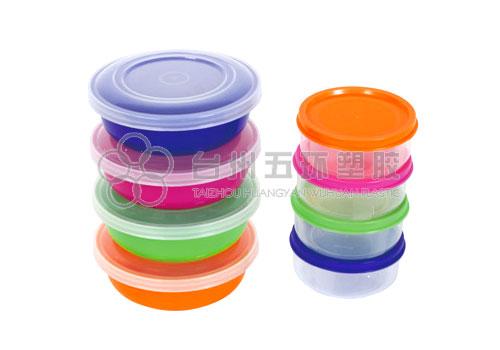 Round container set